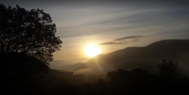 amanece en Solana del Pino