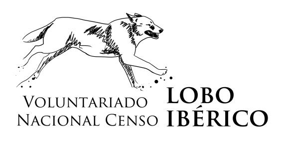 Voluntariado censo lobo iberico logo