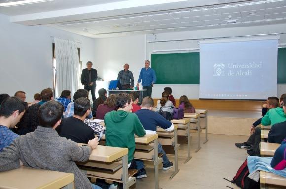 Charla lobo ibérico Universidad de Alcalá